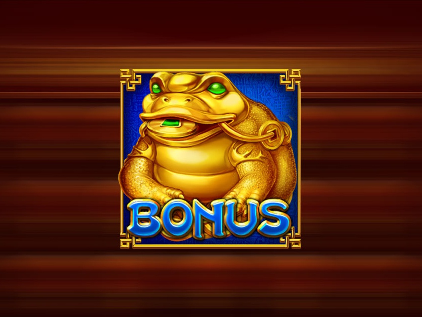 Three-legged toad with a coin in the mouth eastern symbol asian symbol chinese symbol chinenese culture slot machine symbol casino symbol slot symbols slot symbol toad symbol toad design graphic design gambling slot machine game design slot design game art