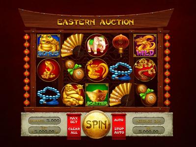 Easten Auction slot - Game reel