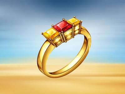 Jasmine Golden Ring