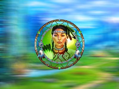 Pocahontas as a slot symbol