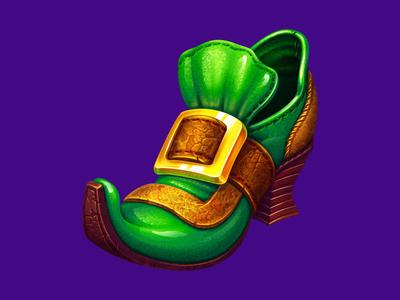 Irish Leprechaun shoe