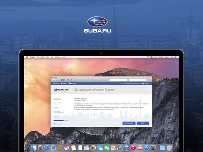 Subaru Map Update Software native app mac update map automotive subaru