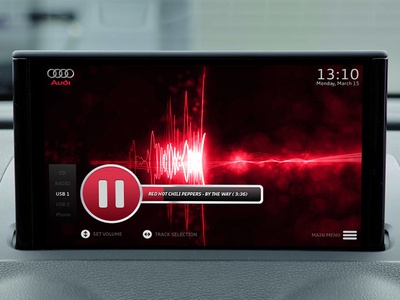 Audi infotainment system - Multimedia navigation application app dashboard infotainment car audi