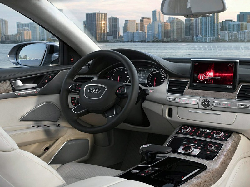Audi infotainment system - Multimedia (preview) navigation application app dashboard infotainment car audi