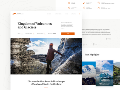 Icelandic Mountain Guides - Tour Page review tour map gallery glacier booking iceland travel