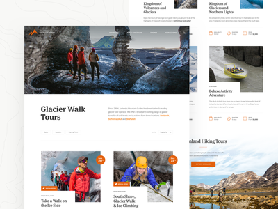 Icelandic Mountain Guides - Tour Category category nature cards overview outdoor hiking glacier tours