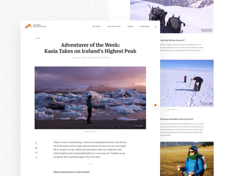 Icelandic Mountain Guides - Blog Post glacier hiking outdoor photo post blog