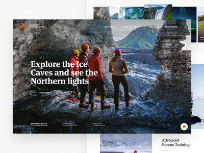 Icelandic Mountain Guides - Frontpage hero photo guides mountain glacier slider home front