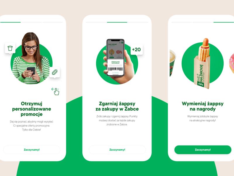 Żappka - Onboarding retail food products onboarding ios app