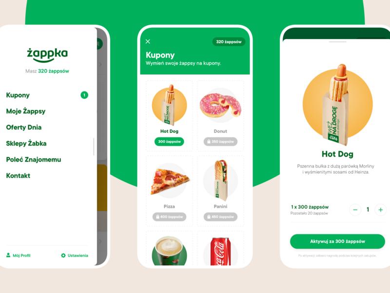 Żappka - Coupons retail coupons cards ios app