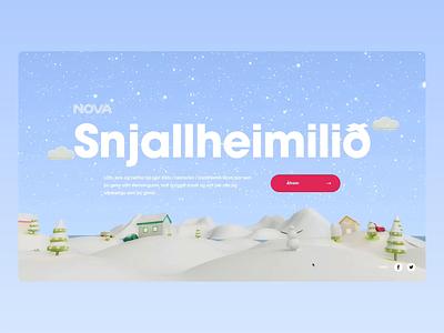 Nova - 3D Smarthome home snow device smarthome 3d