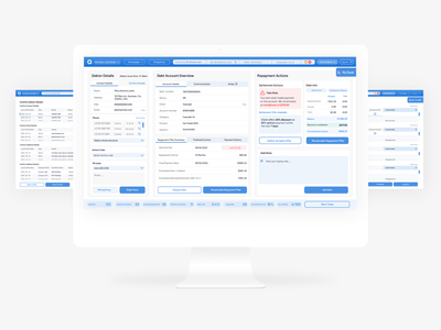 Agent Dashboard product design ui