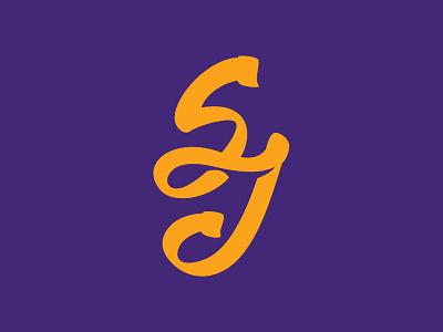Sj Lettering lettering