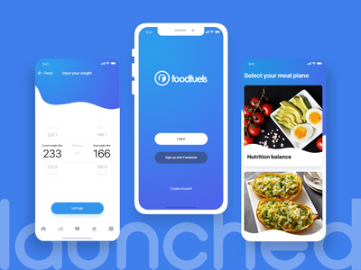 FoodFuels - Weight Loss Program with Real Coaches mobile app development ios app development company iphone app development company mobile app design ux design ui  ux ui design iphone app development android app development company ios app design