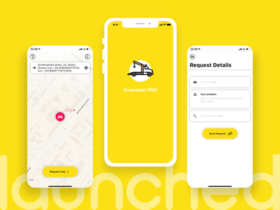 White-label app for Tow Truck Services mobile app development android app development iphone app development company ux design ui  ux ui design mobile app design iphone app development ios app design android app development company