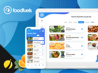 FoodFuels - WeightLoss app with real coaches android app design android app development iphone app design ios app development mobile app development ios app development company iphone app development company iphone app development ui design mobile app design
