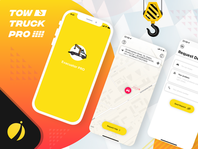 TowTruckPro - iOS & Android apps mobile design android development ios app development android app development mobile app design android app development company ios app development company iphone app development company mobile app development iphone app development