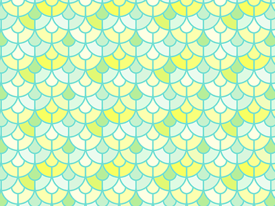 Scales color illustration scales seamless pattern pattern
