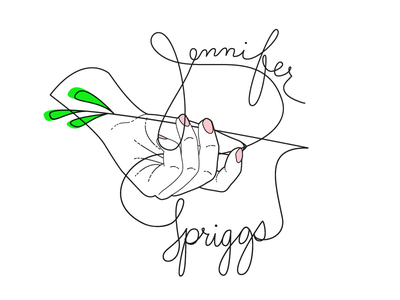 Sprigg in the Hand illustration