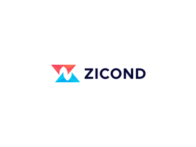 Zicond - Logo Design letter z logo monogram logo design bold typography flat logo modern logo icon brand identity creative logo graphicdesign branding