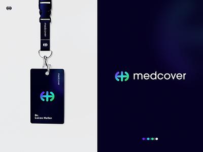 MedCover - Logo Design web doctor o p q r s t u v w x y z a b c d e f g h i j l m n app logo designer modern logo medical illustration icon graphicdesign creative logo brand identity branding