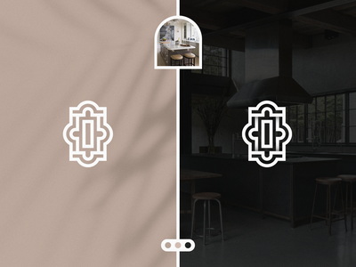 Lamia Interiors - Logo Design website web p q r s t u v w x y z graphic design kitchen logo interior design modern logo illustration creative graphicdesign logo brand identity branding