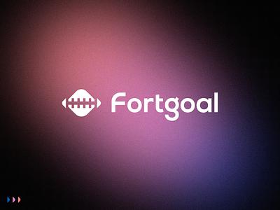 Fortgoal - Logo Design design castle fortress visual identity design graphicdesign web logos logo icon illustration brand identity creative branding