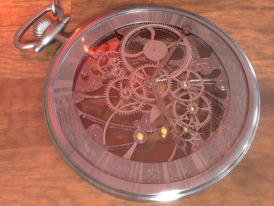 Clock Wise 3d animation design redshift c4d 3d cinema 4d cg art 3d art