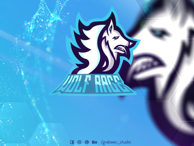 Wolf Rage for sale illustration youtube mascot logo logo design esports logo esportlogo twitch logo mascot logo