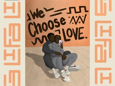 We Choose Love lifa iykyk ifyouknowyouknow blacklove wechooselove love graphicdesign design illustration whynotlifa whynot whynotwednesday