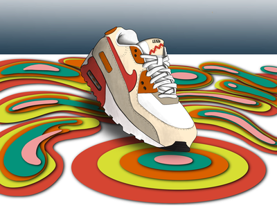 Max Air Pro lifa xmasgift sneakers airmax nikeairmax nike graphicdesign design illustration whynotlifa whynot whynotwednesday