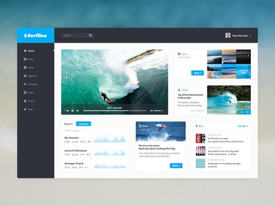 Homepage - Surfline