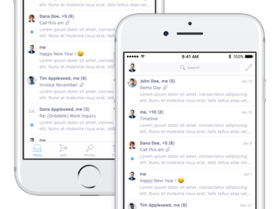 iOS - Mail table view ios 10 app native mail client mail inbox email ios