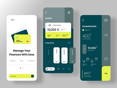 Finance App Concept transaction crypto graphic design futuristic uxdesign payment app banking fintech concept uiux design credit payments finance money fintech uiux mobile branding illustraion uidesign design