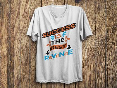 Typography Motivational T-Shirt Design tshirt art tshirtdesign gym fitness motivational vector fashion typography tshirts trendy illustration design branding