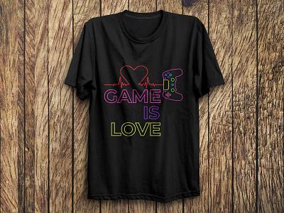 Gaming T Shirt Design fashion vector unique t-shirt custom tshirt graphics tshirt art tshirtdesign gaming design illustration typography tshirts trendy