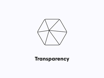 Transparency icon design icon iconography plume branding