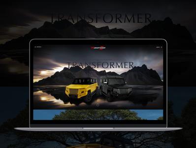 TR-Transformer Web Design