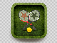 iOS Icon Design -Wimbeldon 2012