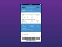 A UI A Day — Day #2: Flight Card