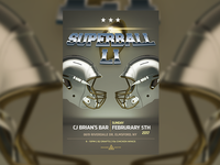 Superbowl Li — Flyer Template Design