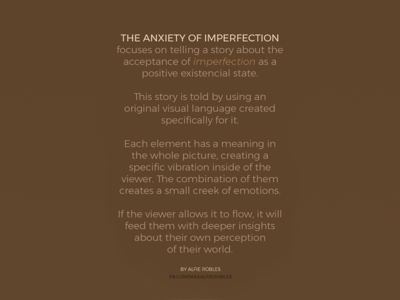 About The Anxiety of Imperfection