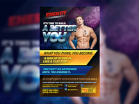 A BETTER YOU Fitness Flyer Template