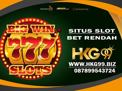 Situs Game Slot Bet Rendah 100, 200 dan 300 situs slot bet rendah slot bet rendah hkg99 situs slot