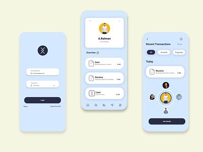 App login page mobile app design mobile ui uidesign uiux