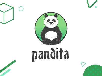Pandita art direction illustration branding pandita
