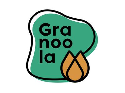 Granoola granola logo design logodesign graphicdesign dailylogo dailylogochallenge