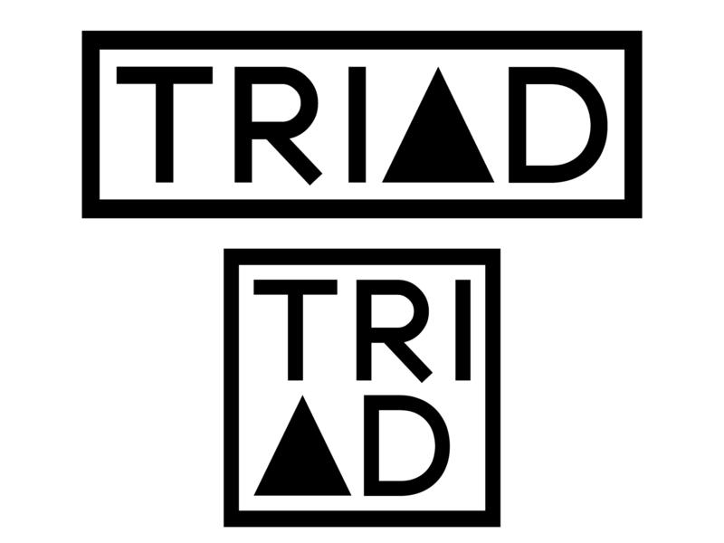 Daily Logo Challenge #30 - TRIAD sneakers brand logo triangle sneaker graphicdesign design logo logodesign dailylogo dailylogochallenge