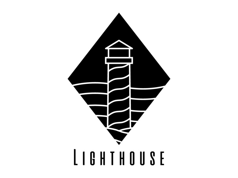Daily Logo Challenge #31 - Lighthouse black and white lighthouse logo lighthouse graphicdesign design logo logodesign dailylogo dailylogochallenge