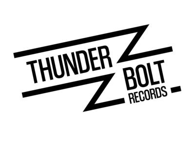 Daily Logo Challenge #36 - Thunder Bolt Records thunderbolt record label graphicdesign design logo logodesign dailylogo dailylogochallenge